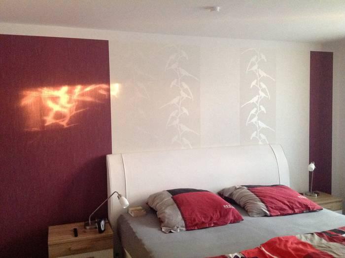 Bordeaux Schlafzimmer - Design