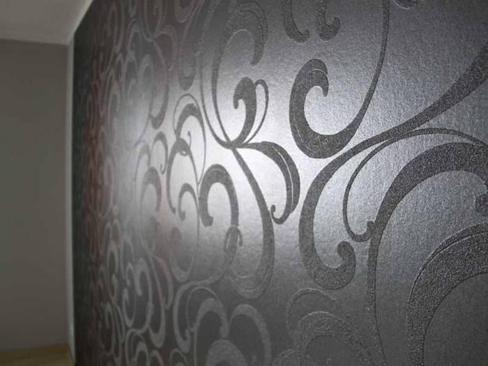 Die Restlichen Wände Wurden Dann In Einem Hellen Und Neutralem Grau  Gestrichen.
