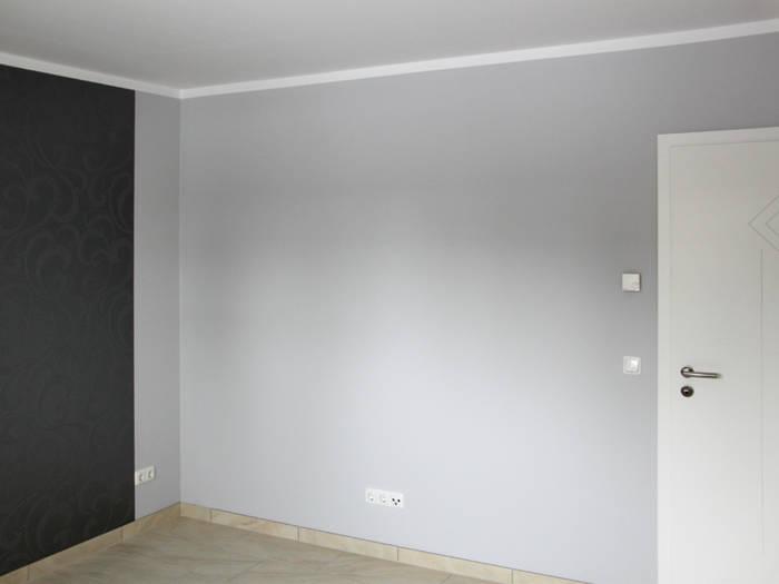 Schlafzimmer Mit Metallic Farbe